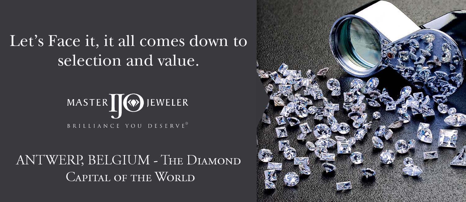 Fountain City Jewelers is Antwerp Diamond Broker