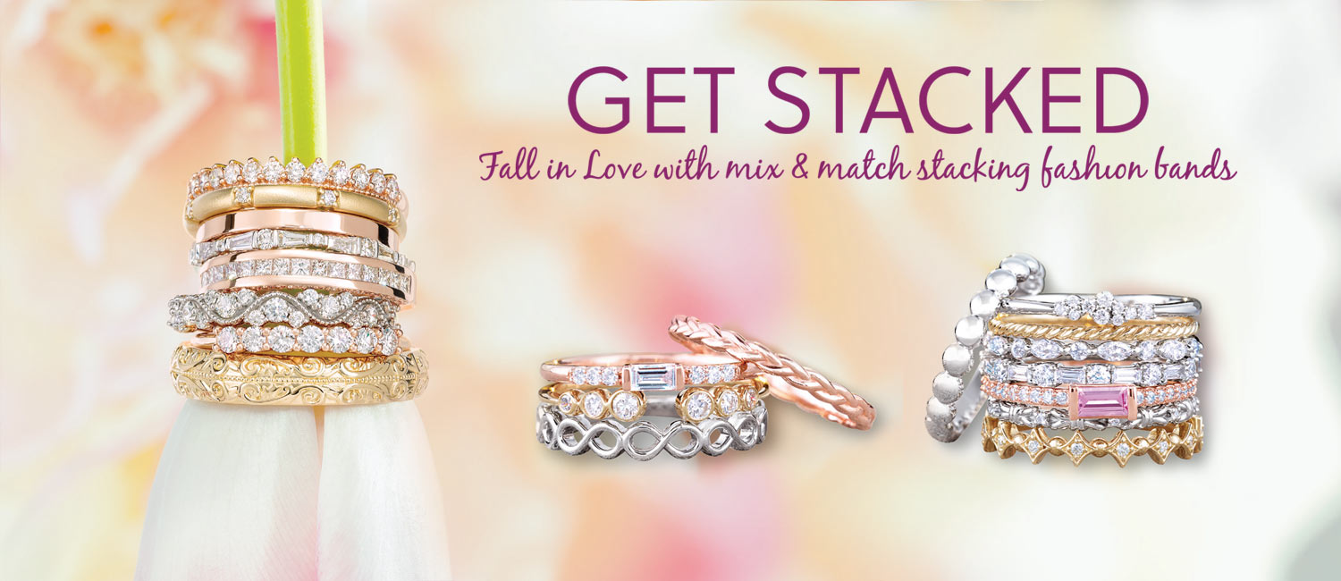 Shop Stackable Fashion Bands At Fountain City Jewelers In Knoxville, TN